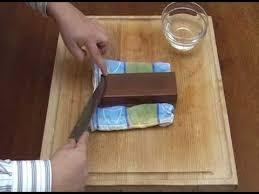 comment aiguiser un couteau de cuisine korin lu présente comment affûter votre couteau japonais
