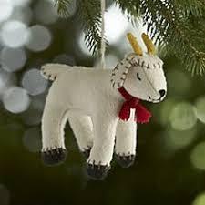goat ornaments a goat s