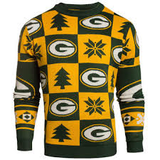 green bay packers ugly sweaters light up sweaters holiday