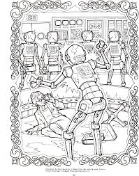 sci fi coloring pages 4 doctor science fiction coloring book