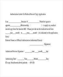 sample medical authorization letter 6 documents in pdf