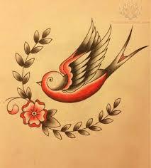 Flower And Bird Tattoo - best 25 swallow tattoo design ideas on pinterest swallow tattoo