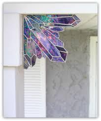 aura amethyst crystal cluster corner piece crystal