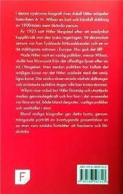hitler kort biografi hitler en kort biografi av a n wilson förlagsny bok på tradera com