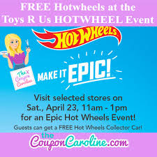 free hotwheels toys hotwheel event saturday