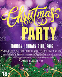 christmas party lettering 2 stock vector art 585295826 istock
