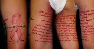 the most beautiful cancer ribbon tattoos tam blog