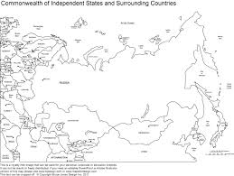 Map Russia Printable Map Of Russia 11