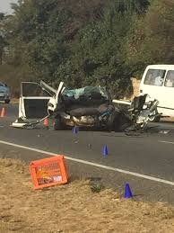 r59 accident leaves five dead and two critical alberton record