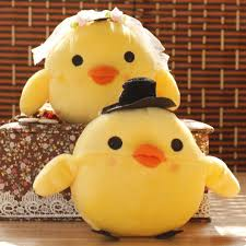aliexpress com buy lovely chicken plush toys apair of small