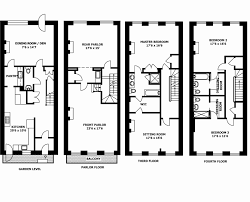 row house floor plan row house floor plans modern merged rendered sml residential