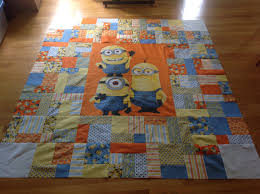 how to make a minions quilt