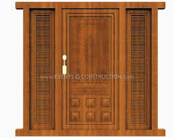 mesh doors design in wood gharexpert arafen