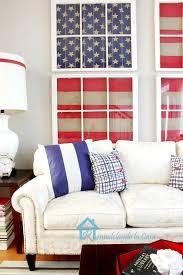 Remodelando La Casa Red White And Blue Living Room - Red and blue living room decor
