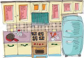 cuisine dessin animé cuisine dessin animé image vectorielle iralu1 32386059