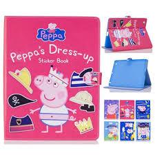 Peppa Pig 2017 Book 2017 New Arrival Peppa Pig For Air 2 Funda Flip Book