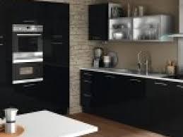 cuisine noir laqué photo cuisine noir laque brico depot par deco
