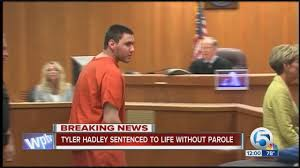 hadley sentenced to without parole