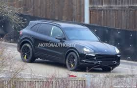 Porsche Cayenne Years - vwvortex com spied 2018 porsche cayenne