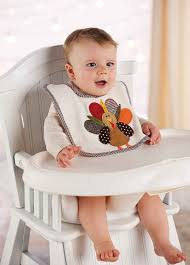 mud pie unisex baby newborn turkey bib multi 0 24