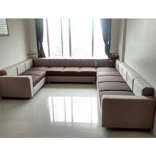 Stylish Sofa Sets For Living Room U Shape Stylish Sofa Set At Rs 58500 Set Fabric Sofa Id