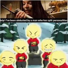 Multiple Picture Meme - shaolin showdown multiple personalities captor know your meme