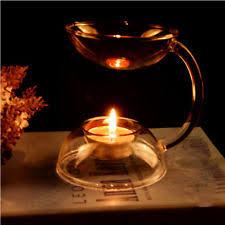 Tea Light Oil Warmer Glass Modern Oil Burners Ebay