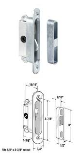 Patio Door Mortise Lock Replacement Wgsonline Sliding Wood Or Glass Patio Door Mortise Lock And Keeper