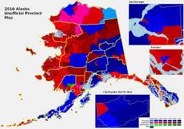 Alaska County Map by Ri U0027s 2016 Precinct Map Thread