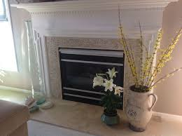 Travertine Fireplace Tile by 30 Best Fireplace Ideas Images On Pinterest Fireplace Ideas