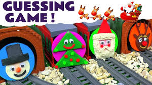 thomas and friends toy trains christmas play doh jingle bells fun