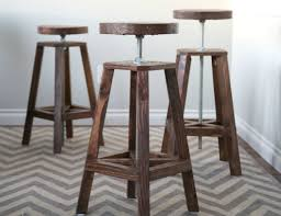Wooden Bar Stool Plans Free by Best 25 Diy Bar Stools Ideas On Pinterest Rustic Bar Stools