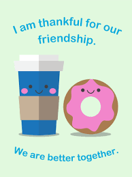 we are better together friendship card birthday greeting