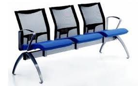 banquette bureau sièges sur poutre et d accueil banquette d attente ginza 3