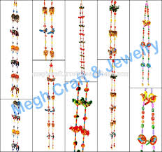 wholesale beaded crystal work wall hanging diwali special decor