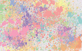 Paint Splatter Wallpaper by Pastel Splat Wallpaper By Foolish Angel On Deviantart