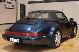 porsche 964 cabriolet 1993 porsche 911 carrera 964 cabriolet 2 convertible 2dr man 5sp