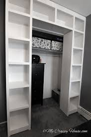Small Bedroom Into Library How To Turn A Bedroom Into Closet On Budget Small Ideas Diy