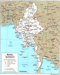Map Burma Myanmar Maps