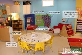 a tour of the classroom at play to learn preschool play to learn