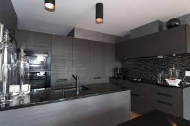deco cuisine gris et noir photo decoration ou grise 9