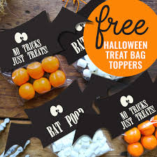 kara u0027s party ideas free halloween treat bag topper printable