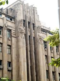 the new india assurance building is an art deco office building