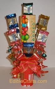 christmas gifts to make u2013 candy bar bouquet
