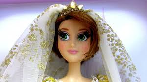 Tangled Wedding Rings by Rapunzel Limited Edition Wedding Doll Tangled Ever After