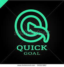 letter q target goal logo arrow stock vector 581623867 shutterstock