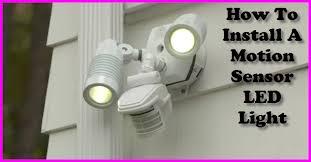 how to install sensor light how to install a motion sensor security light gotta go do it yourself