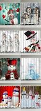 Winter Scene Shower Curtain by 25 Unique Snowman Shower Curtain Ideas On Pinterest Holiday