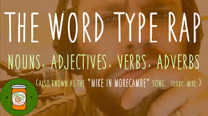 Identifying Adverbs And Adjectives Worksheets The Word Type Rap Nouns Adjectives Verbs U0026 Adverbs Mrwalton