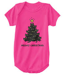 meowy christmas meowy christmas baby onesie meowy christmas products from meowy